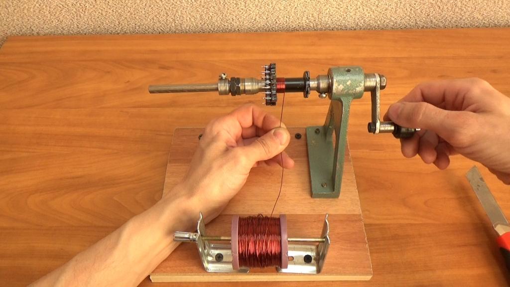 Создание намоточного станка для катушек. вопрос от новичка