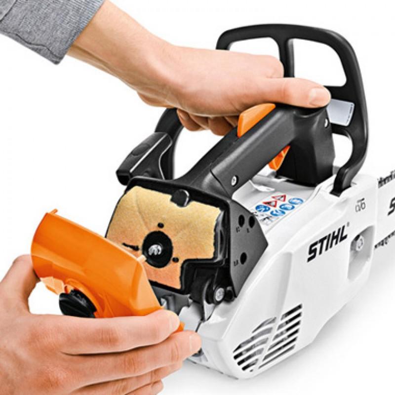 Stihl ms 192 t-12 — компактная бензопила для обработки деревьев
