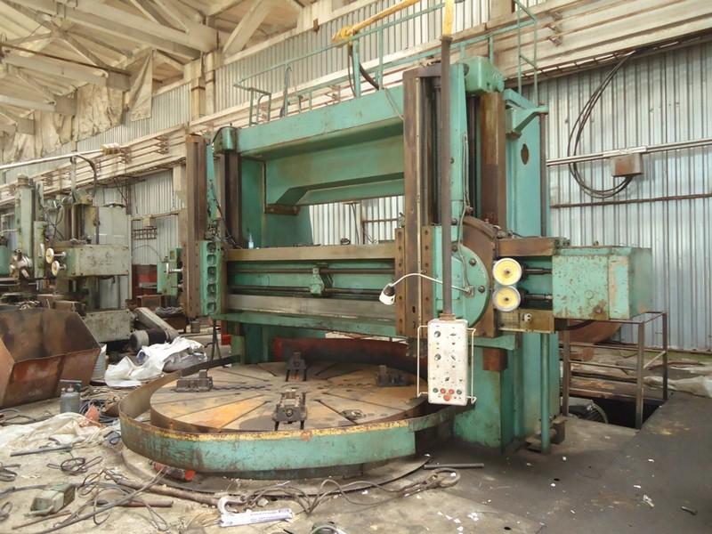 Токарно-фрезерный карусельный станок turnmill2000 (d-2000 mm)