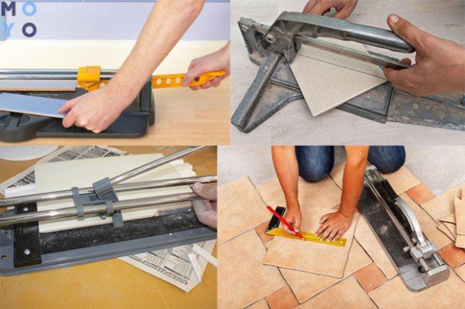 Как выбрать плиткорез и правильно им пользоваться