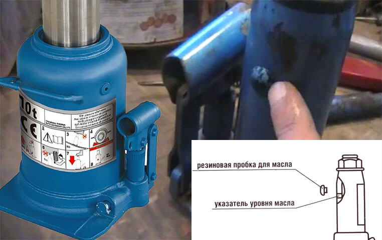 Как залить масло в домкрат? в гидравлический домкрат бутылочного типа и подкатной, замена своими руками