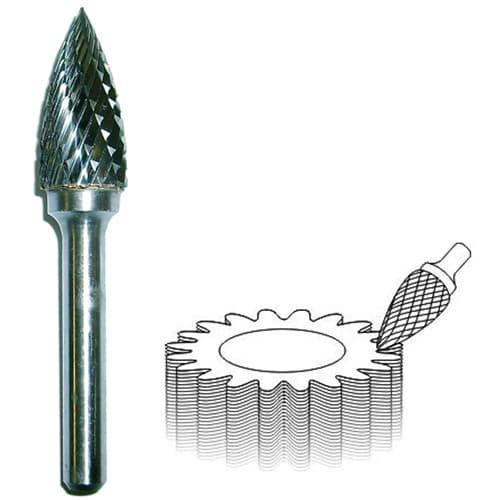 Шарошка по металлу: особенности алмазных и абразивных насадок