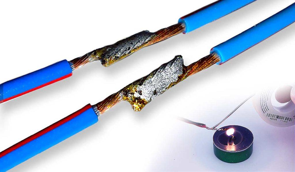 Как припаять провод без паяльника: расплавление припоя и лужение проводника для пайки деталей