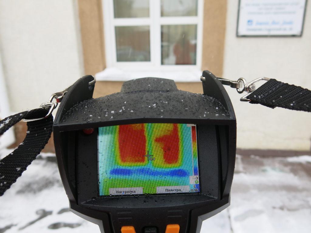 Тепловизоры для обследования зданий и сооружений | проинструмент