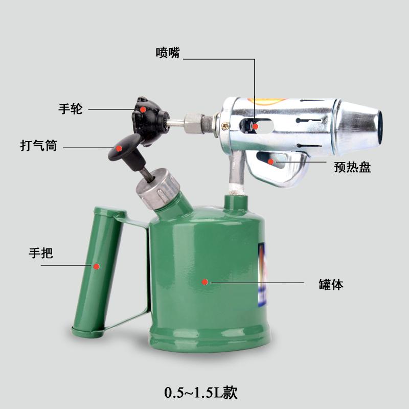 Как применяется паяльная лампа на бензине