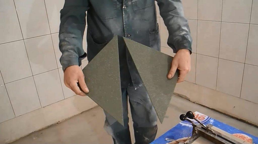 Резка керамогранита: чем резать, использование ручного плиткореза и алмазного диска