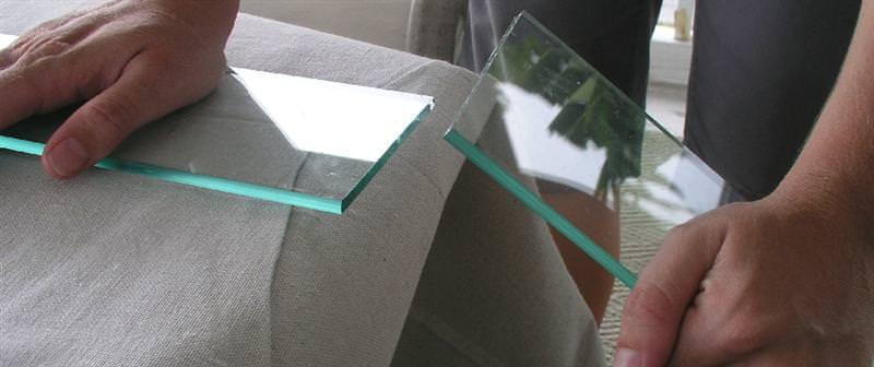 Режем стекло стеклорезом в домашних условиях правильно +видео