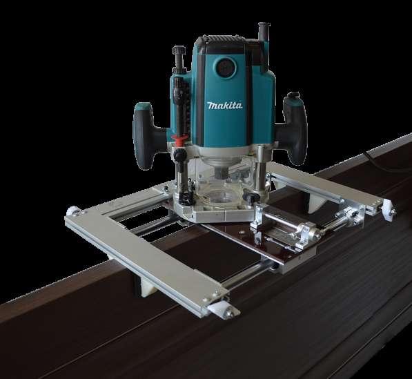Фрезер для врезки замков: фреза для межкомнатных дверей, шаблон для петель, установка и приспособление