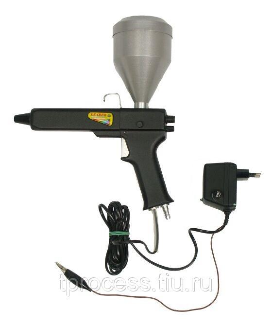 Порошковый пистолет или краскопульт для порошковой окраски