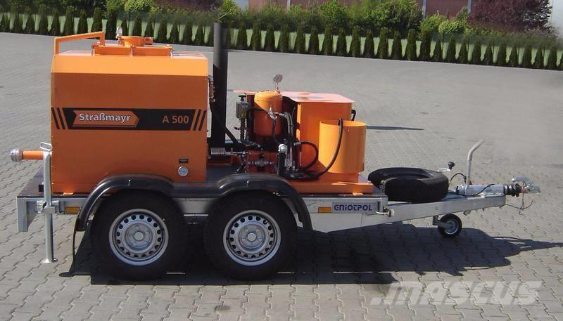 Автогудронатор для дорожно-ремонтных и строительных работ