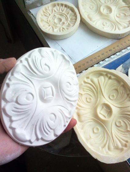 Создание формы для изготовления лепнины из гипса и полиуретана