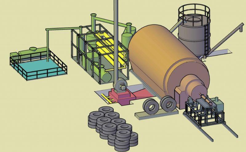 Бизнес переработка шин в крошку: оборудование, цена, что нужно для начала