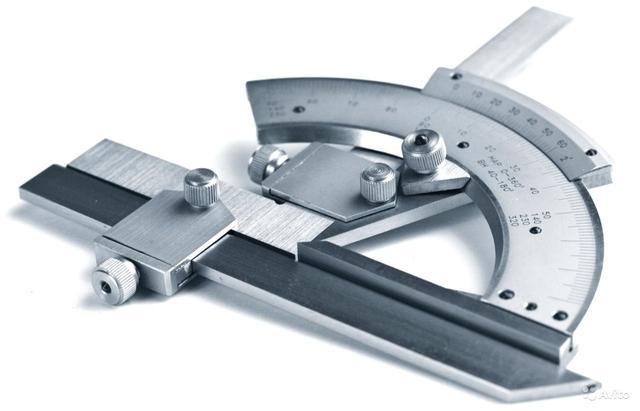 Механический угломер инструментальный
