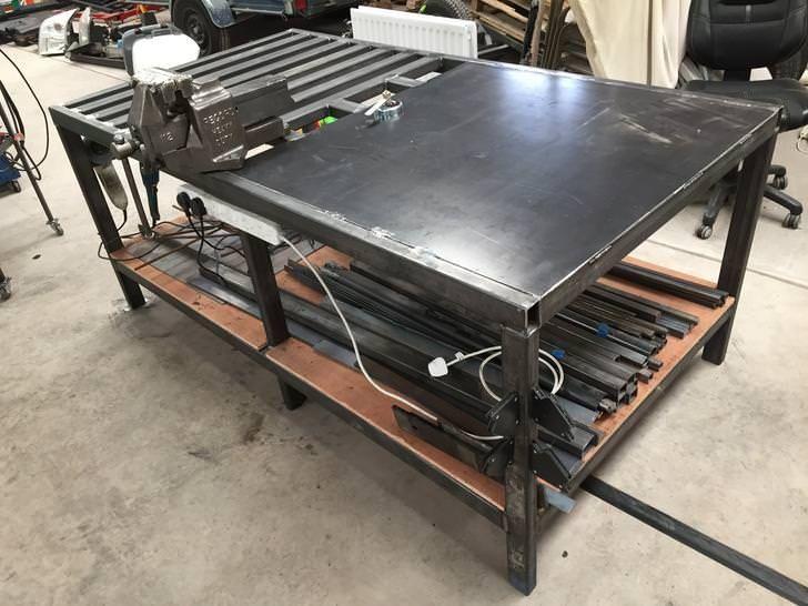 Тонкости изготовления стола для сварочных работ