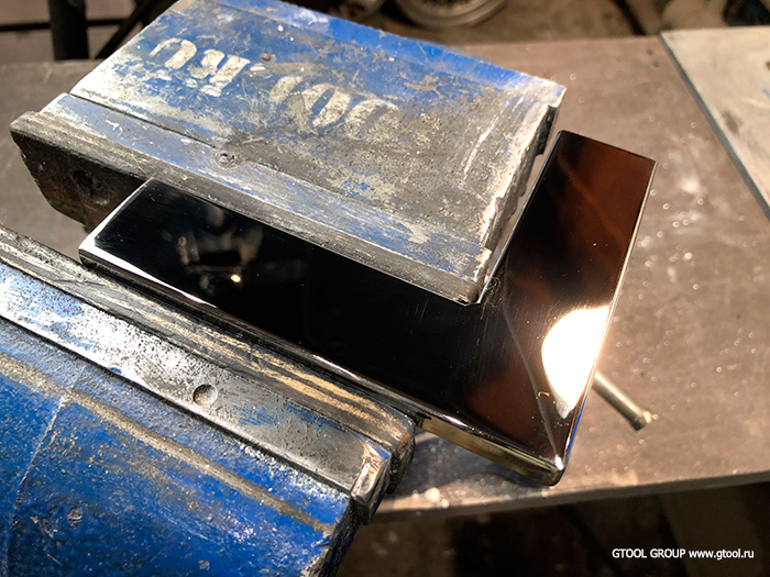 Чем отполировать нержавейку до зеркального блеска? - металлы и металлообработка