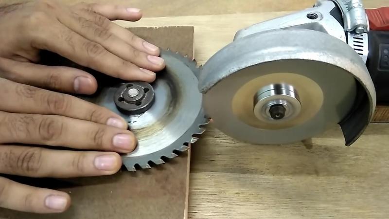 Как производится заточка дисковых пил своими руками?