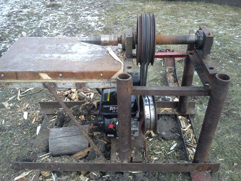 Как я сделал механический дровокол своими руками » изобретения и самоделки