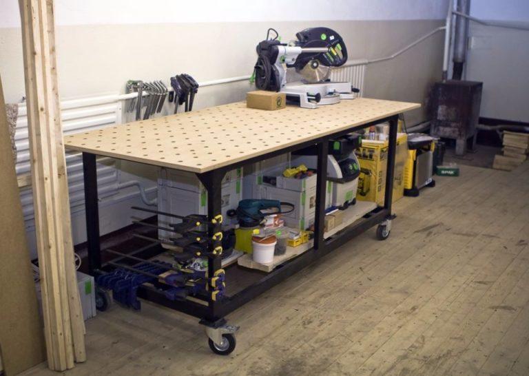 Верстак для гаража своими руками: пошаговая инструкция по сборке
