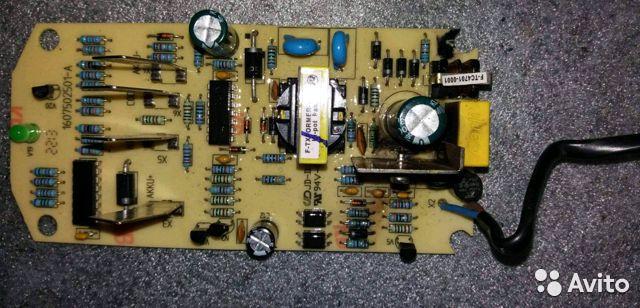 Конструкция зарядного устройства от шуруповёрта.