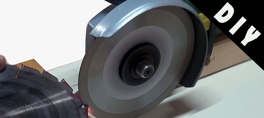 Заточка дисковых пил своими руками – технология выполнения