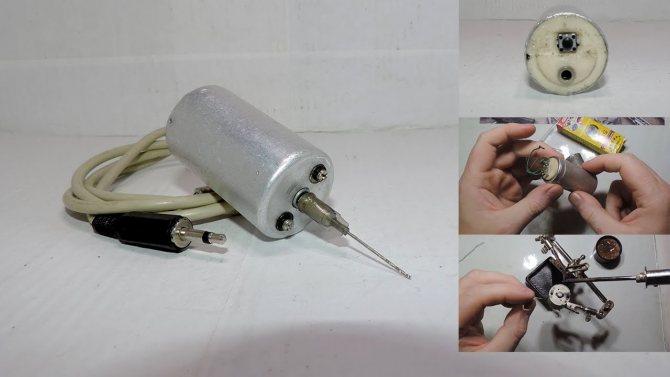 6 способов сделать мини-дрель своими руками в домашних условиях