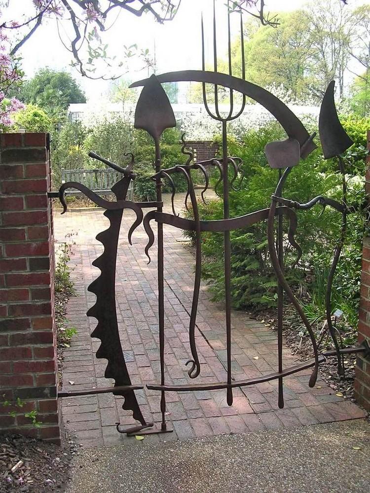 Поделки из металла своими руками — полезные мастер-классы по созданию вещей для декора дачи, дома, сада