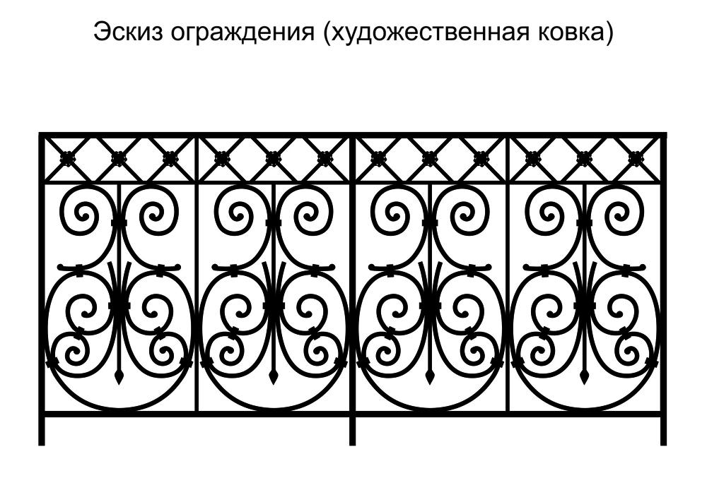 Кованые ворота своими руками: образцы чертежей, эскизов, схем на фото и видео