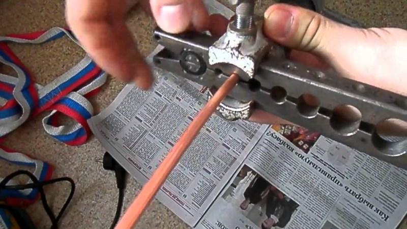Способы развальцовки медных трубок и необходимые инструменты