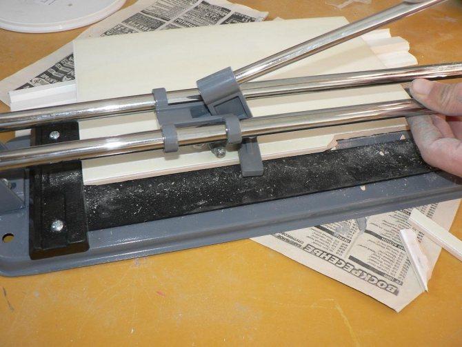 Чем резать плитку в домашних условиях: инструменты для кафельной и керамической плитки