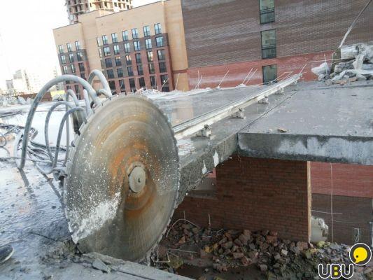Алмазные канатные пилы и стенорезные машины - дисковая и канатная резка