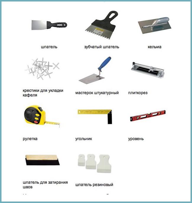 Выполнение плиточных работ: какие материалы, инструменты нужны для укладки плитки, технология процесса