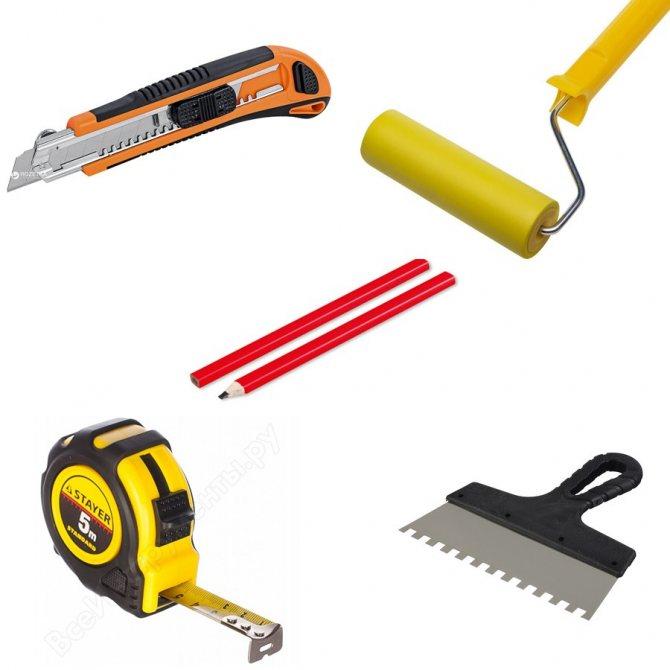 Инструмент для плиточных работ. составляем список