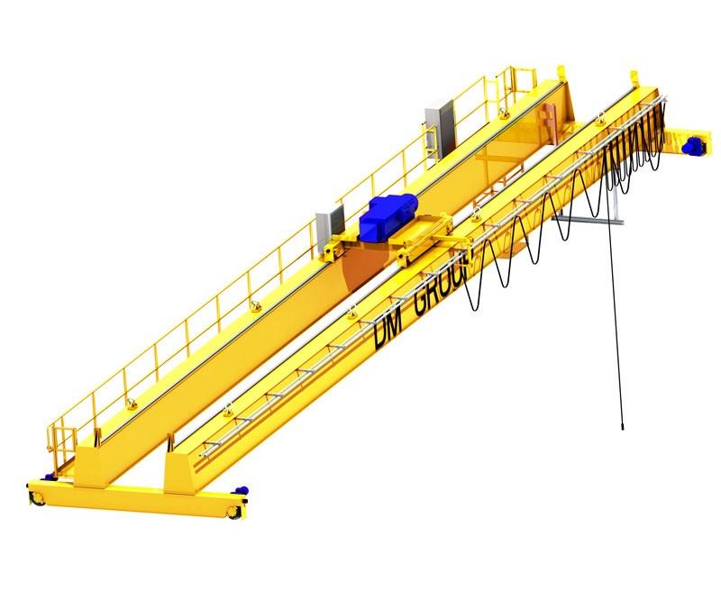 Принцип действия мостового крана