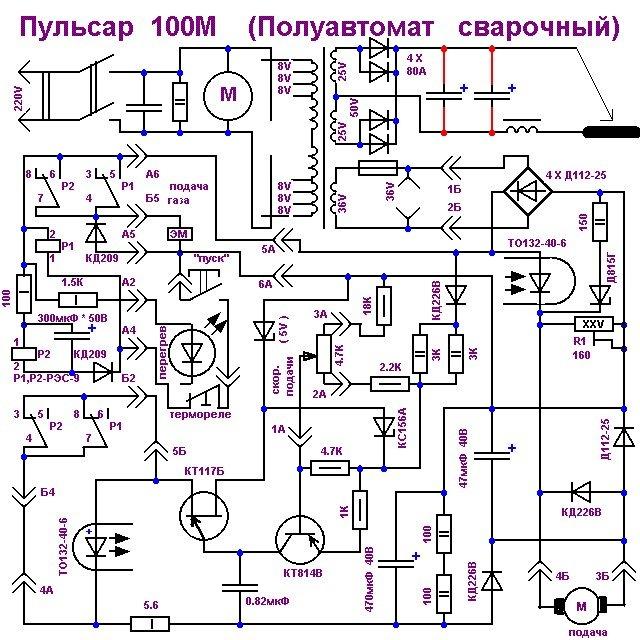 Сварочный полуавтомат своими руками: преимущества техники, схема изготовления полуавтоматического инвертора