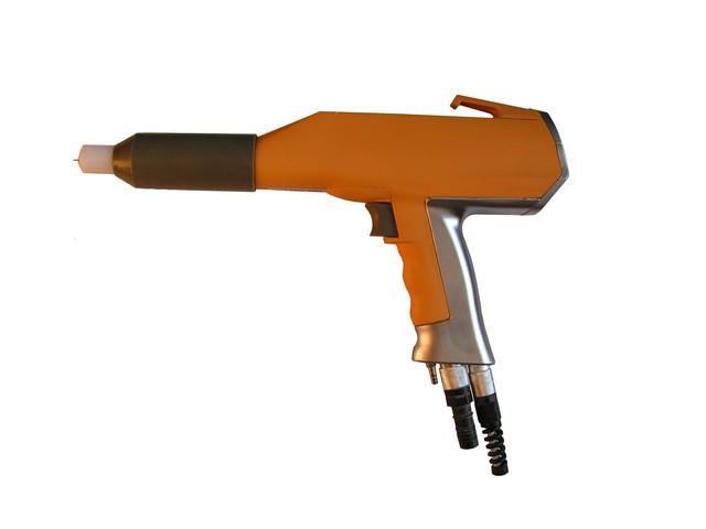 Пистолет для порошковой покраски: как настроить трибостатический или электростатический пистолет своими руками для дисков