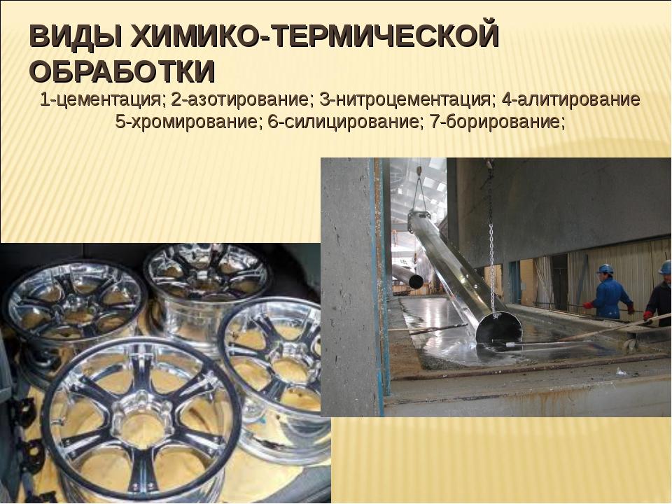 Химико-термическая обработка стали: цементация, азотирование и силицирование | мк-союз.рф