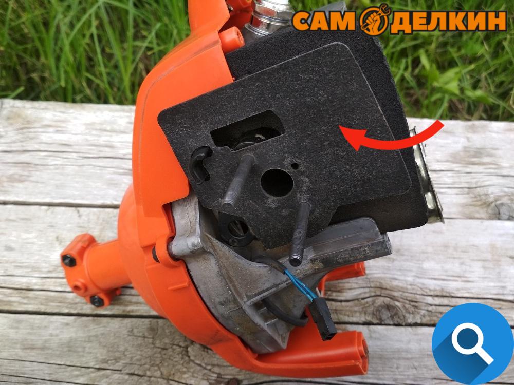 Триммер хускварна ремонт карбюратора