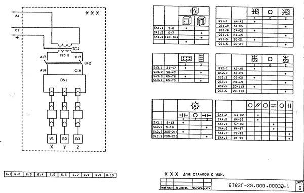 Паспорт на станок 6т12-1, 6т13-1 консольно-фрезерный