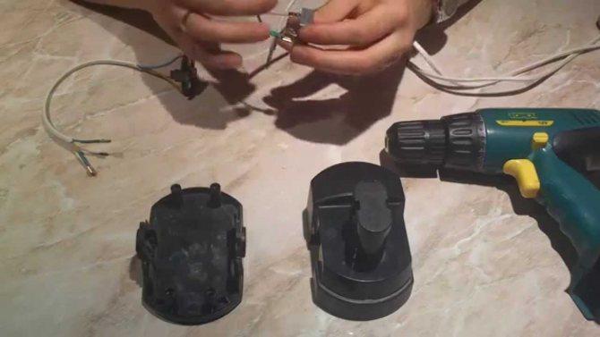 Как переделать аккумуляторный шуруповёрт в сетевой разными способами