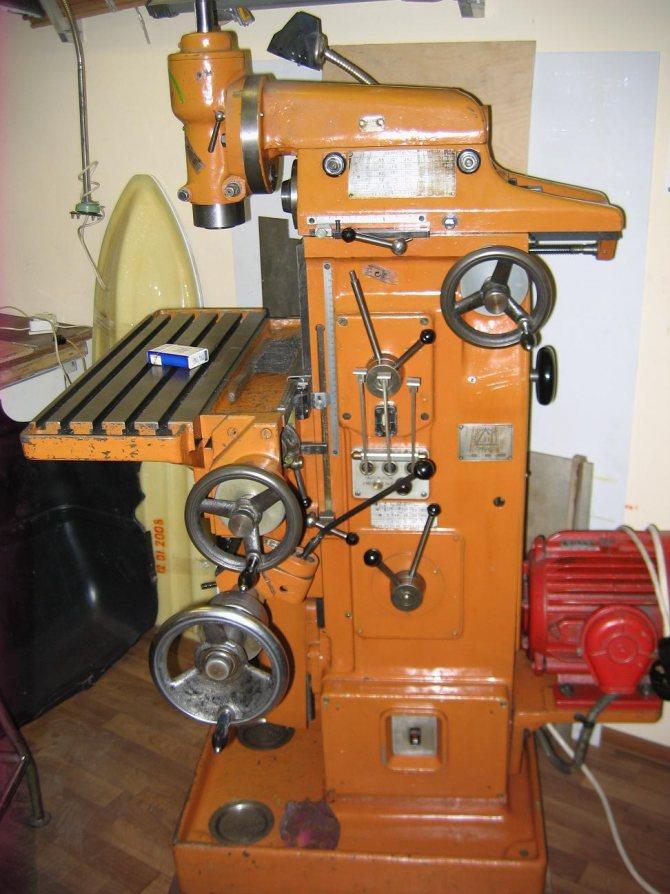Фрезерный станок оф-55: технические характеристики, схемы