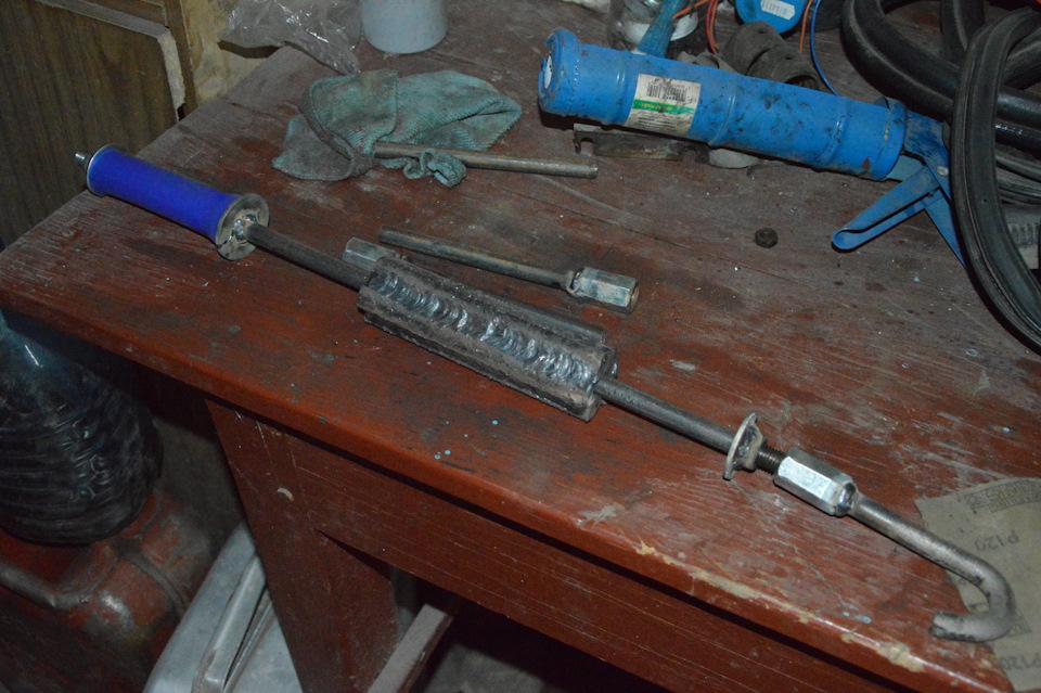 Обратный молоток для кузовного ремонта - виды и изготовление своими руками