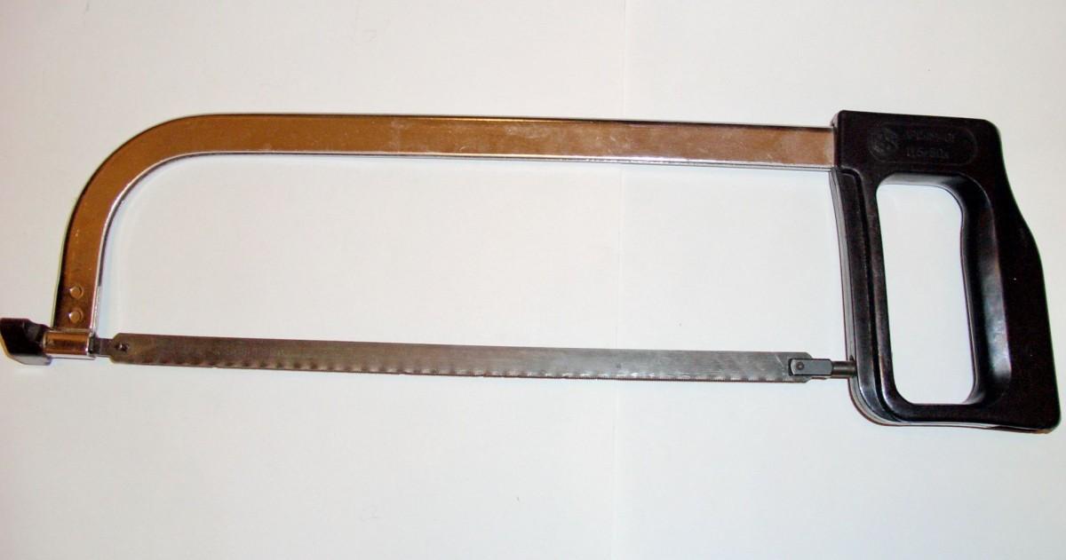 Как просверлить ножовочное полотно по металлу?