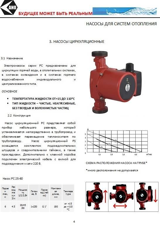 Насос циркуляционный для отопления: виды и характеристики, как правильно выбрать, обзор популярных моделей и производителей, их плюсы и минусы