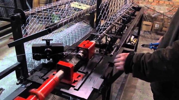 Ручной станок для сетки рабицы своими руками
