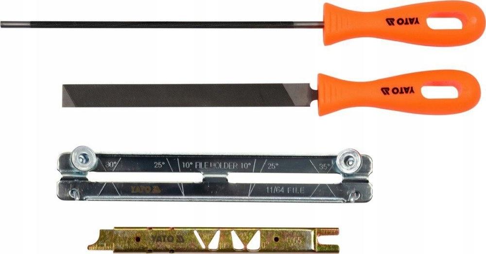 Напильник для заточки цепей бензопил — особенности выбора и применения
