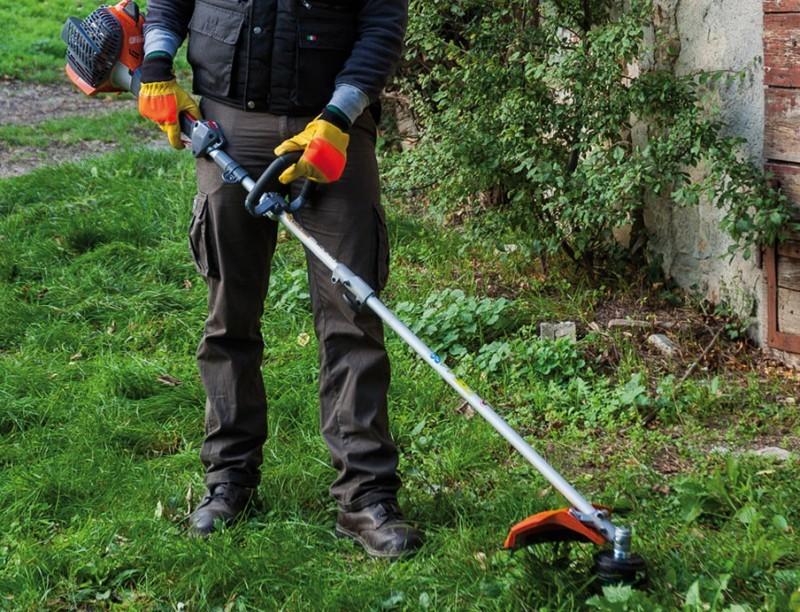 Правильная эксплуатация триммера для травы