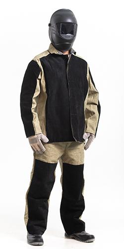 Спецодежда для сварщиков: сварочные робы и зимние куртки, спилковые нарукавники и подшлемники для сварки, описание другой рабочей одежды