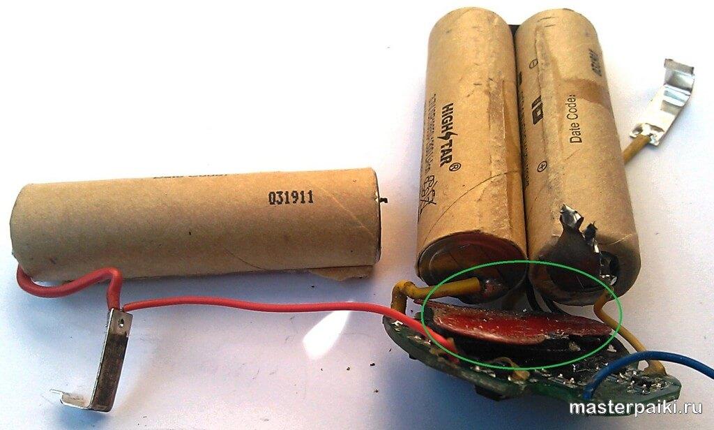 Как восстановить аккумулятор шуруповёрта самостоятельно