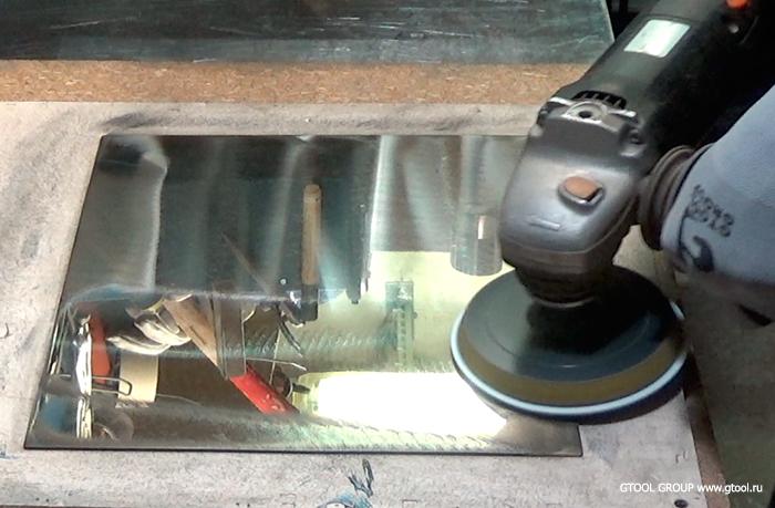 Как отполировать металл до зеркального блеска?