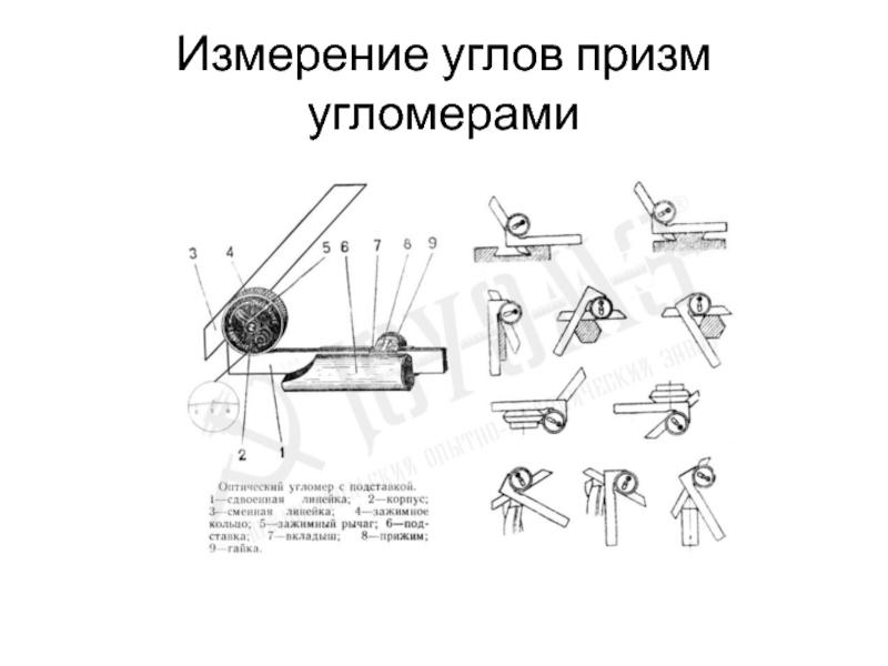 Как пользоваться угломером слесарным